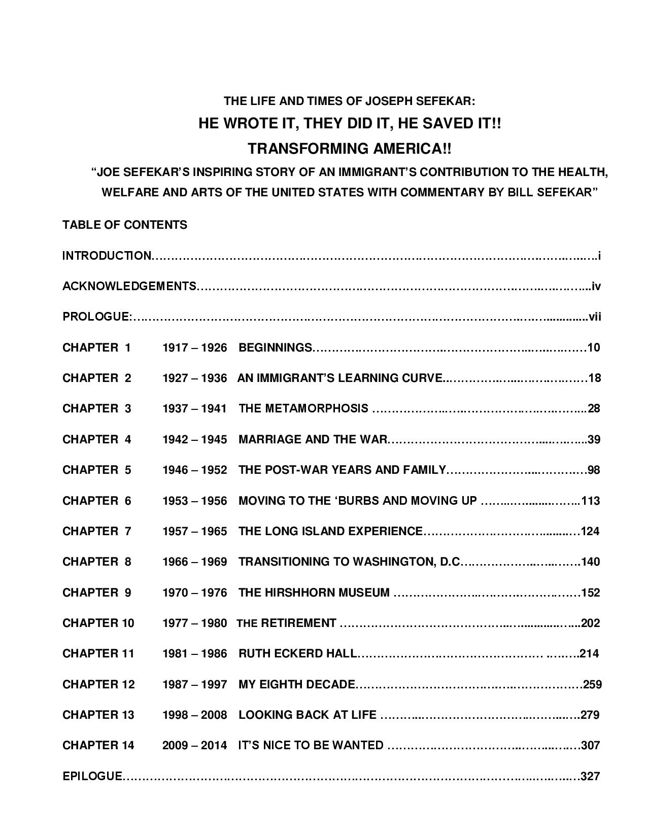 TABLE OF CONTENTS CHAPTER TITLES L&T JOSEPH SEFEKAR 5-18-16-page-001
