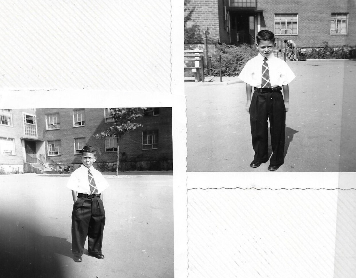 Figure 5O Billy's 1st Day at School, Sept. 1951