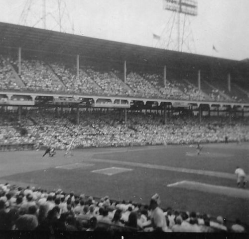 Figure # Ebbets Field, June 1956
